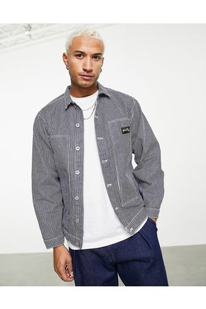 Stan Ray Winter box jacket in hickory stripe