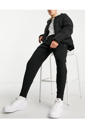 Russell Athletic Carlos joggers in black