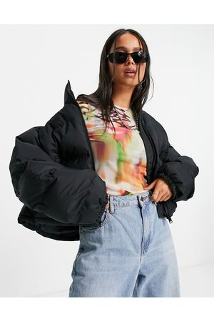 Weekday Promis recycled polyester short puffer jacket in