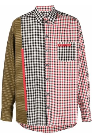 Dolce & Gabbana Mixed check-print shirt