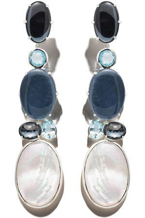 Ippolita Luce 6-stone long earrings