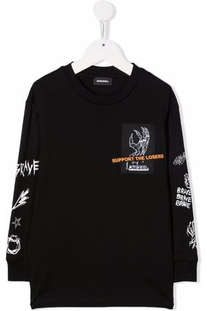 Diesel Support The Losers long-sleeve T-shirt