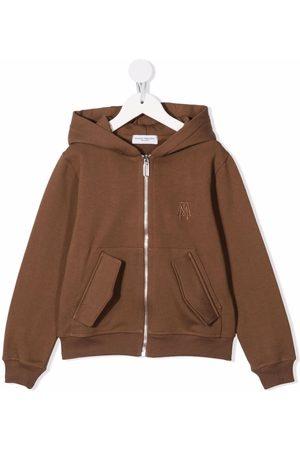 Paolo Pecora Logo zipped hoodie