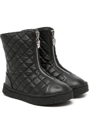 AGE OF INNOCENCE Quilted zip-up boots