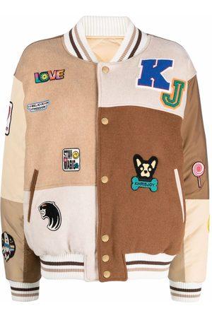 Khrisjoy Rear logo-print bomber jacket