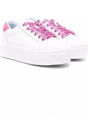 Chiara Ferragni Logo-print laces sneakers
