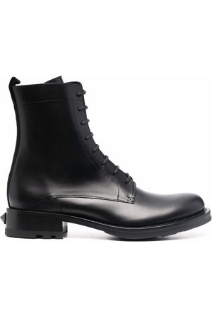 VALENTINO GARAVANI Ankle-length lace-up boots