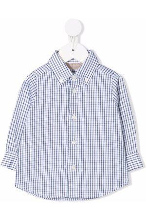 LA STUPENDERIA Gingham button shirt