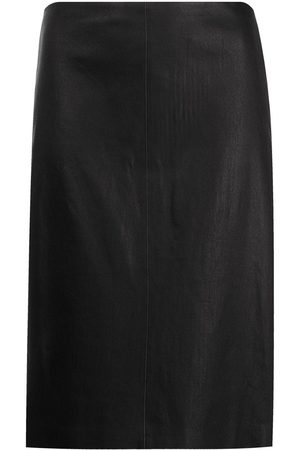THEORY Panelled pencil skirt
