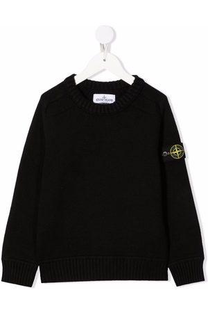 Stone Island Plain long-sleeve sweatshirt