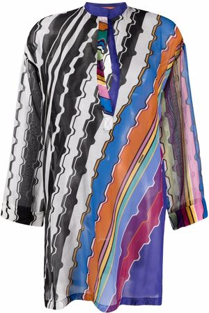 Missoni Abstract-print beach cover-up