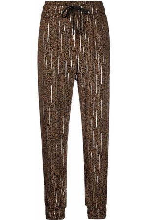 Pinko Spotted fil coupé trousers