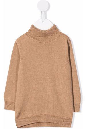 LITTLE BEAR Roll neck wool jumper