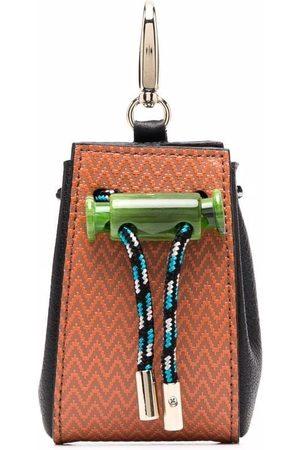 Missoni Chevron pattern keyring pouch
