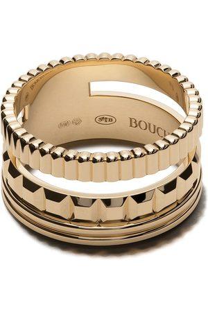 Boucheron 18kt yellow gold small Quatre Radiant ring