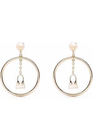 Jacquemus Le Chiquito drop hoop earrings