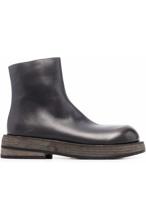MARSÈLL Musona leather ankle boots