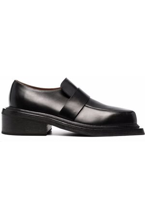 MARSÈLL Spatoletto leather loafers