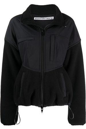 Alexander Wang Cutaway collar panelled jacket