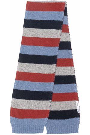 KNOT Stripe-pattern scarf