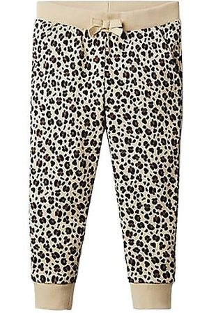 Janie and Jack Girls Joggers - Little Girl's & Girl's Leopard Print Joggers