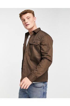 SELECTED Men Casual - Double pocket overshirt in