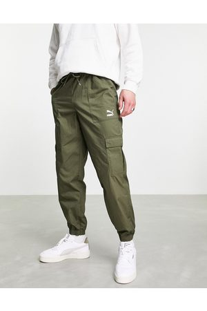 PUMA Classics cargo pants in khaki