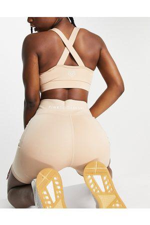 Pink Soda Sport 5 inch shorts in biscuit-Neutral