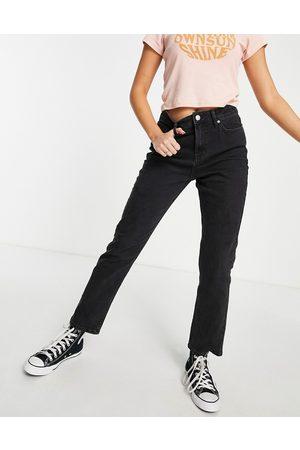 Miss Selfridge Women Slim - High waist slim leg jean in