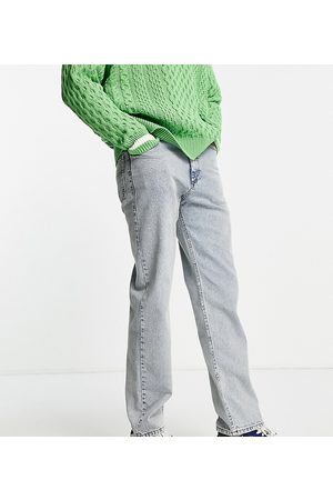 COLLUSION X005 straight leg jeans in stonewash