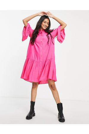 & OTHER STORIES Women Casual Dresses - Mini smock shirt dress in