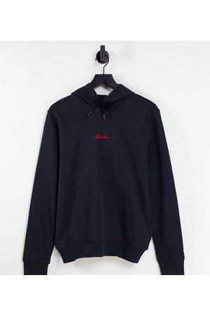 new era Heritage essentials hoodie in navy - exclusive to ASOS