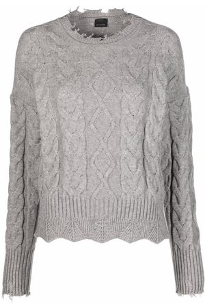 Pinko Cable-knit crew-neck jumper