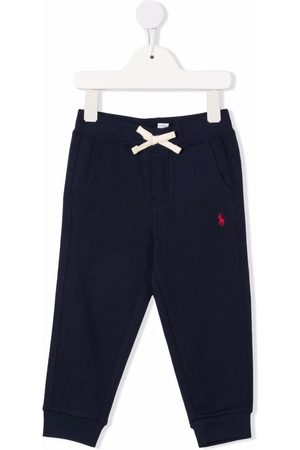 Ralph Lauren Embroidered-pony trousers