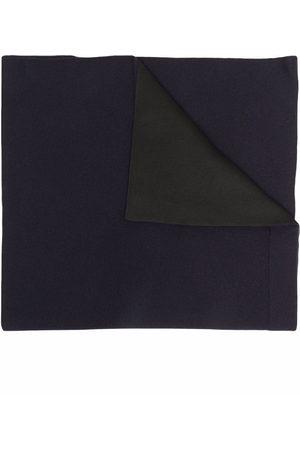 Jil Sander Virgin wool-blend two-tone scarf