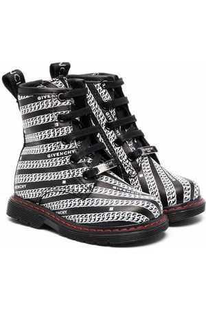 Givenchy Chain-print ankle boots