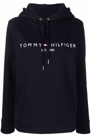 Tommy Hilfiger Embroidered-logo pullover hoodie