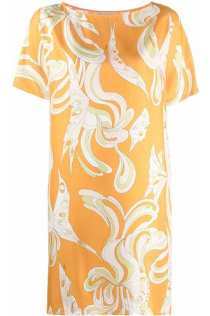 Emilio Pucci Graphic-print short-sleeve dress