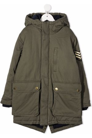 Zadig & Voltaire Hooded flap-pockets padded coat