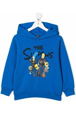 Balenciaga The Simpsons-print cotton hoodie