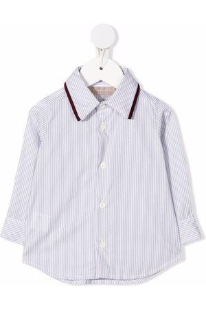 LA STUPENDERIA Striped button-up shirt