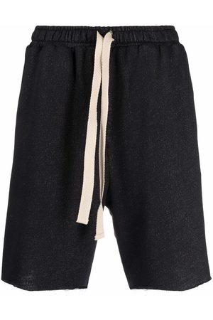 Alchemy Raw-cut drawstring shorts
