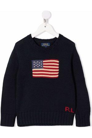 Ralph Lauren American flag cotton jumper