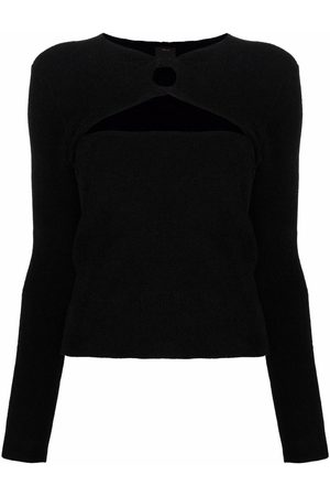 Pinko Cut-out knitted jumper