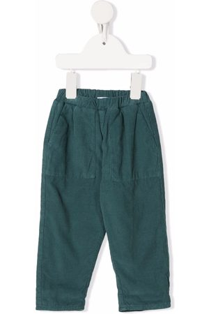 KNOT Daiki corduroy elasticated-waist trousers