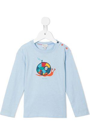 Paul Smith Logo-print long-sleeve T-shirt