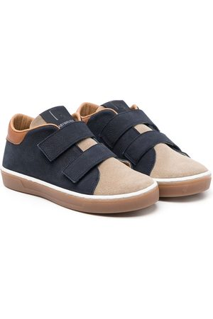 Babywalker Colour-block low-top leather sneakers