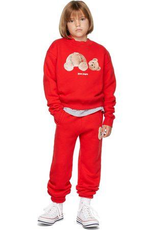 Palm Angels Sweatshirts - Kids Bear Sweatshirt