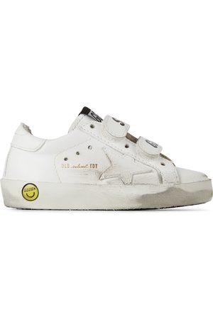 Golden Goose Baby Old School Velcro Sneakers