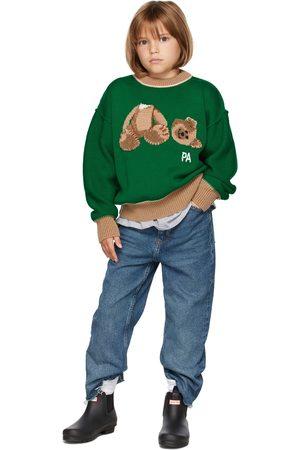 Palm Angels Kids & Bear Sweater